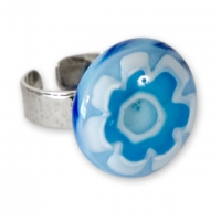 """""""Blue On Blue"""" Ring"""