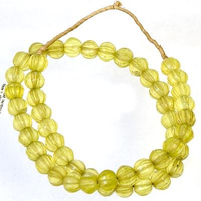 Uranium salt/vaseline beads BEFORE