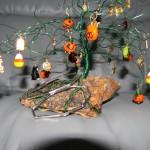 Halloween tree by Carolyn Fiene
