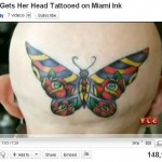 Our friend Joyce's other art -- on Miami Ink
