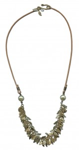 """Spring Skies"" necklace by Cindy Morris"