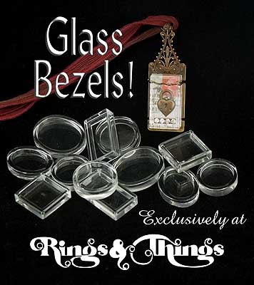 Glass bezel cups