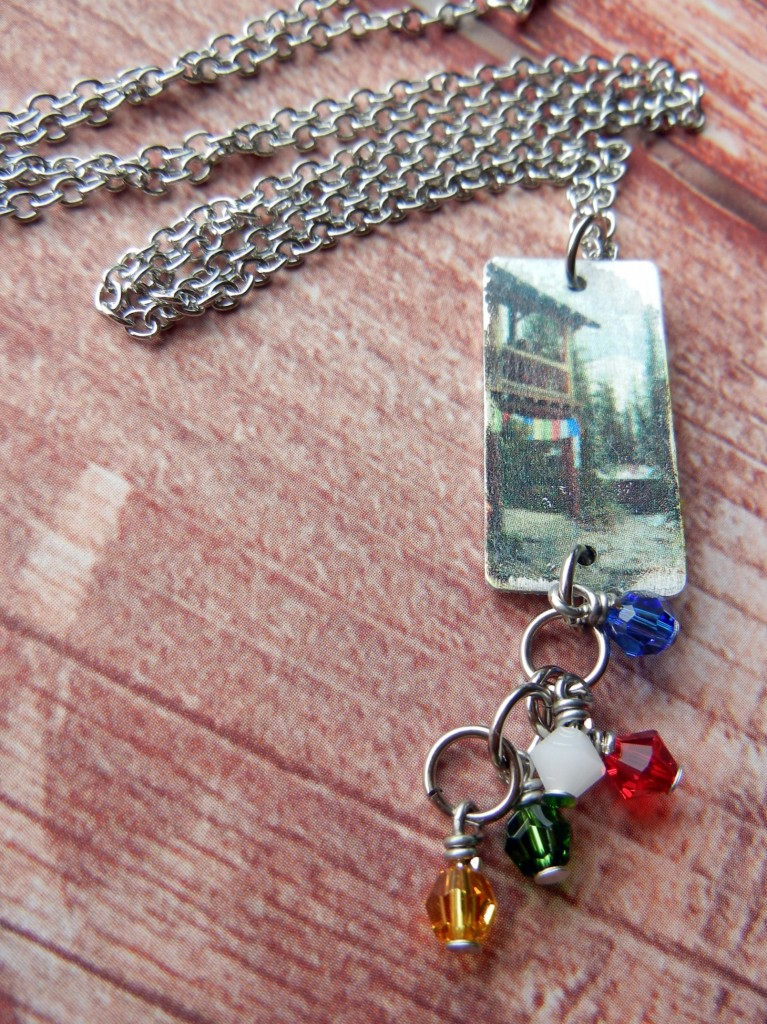 image transfer necklace