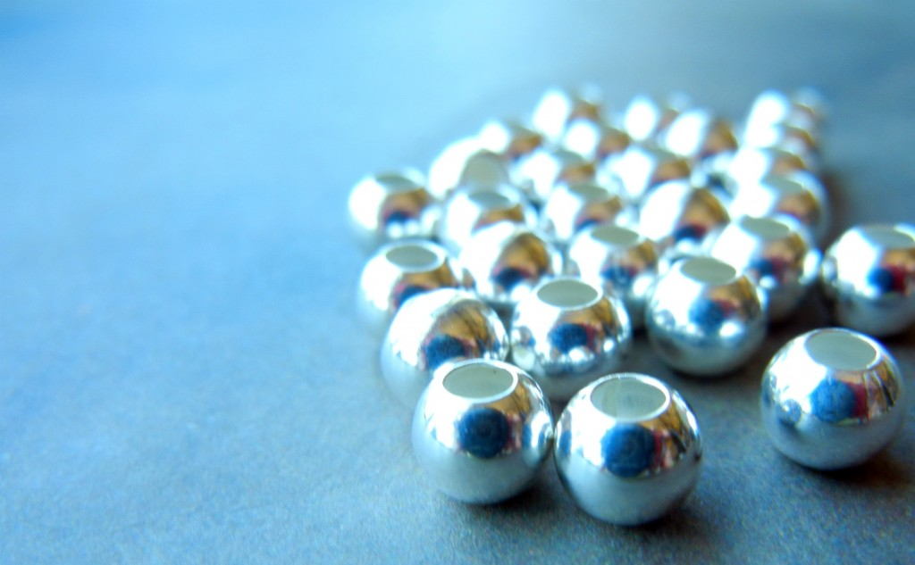 silver filled beads