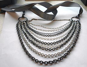 Make Your Own Designer Jewelry MultiChain Necklace Rings and Things