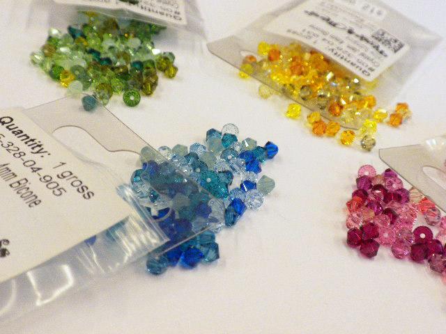 Diy Earring Project Swarovski Crystal Tel Earrings