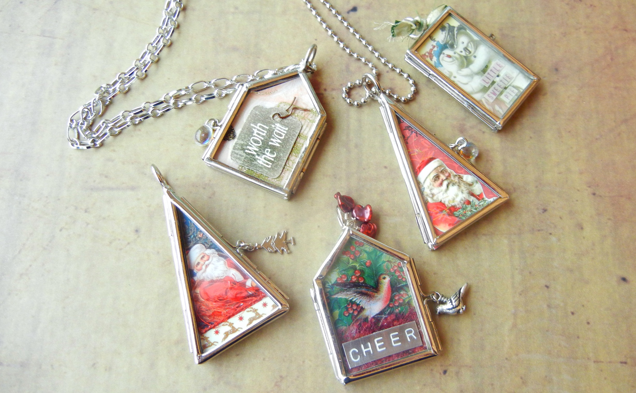 Twelve days of christmas jewelry designs u hinged picture