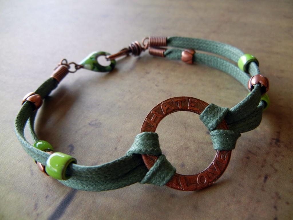 rita's etched bracelet