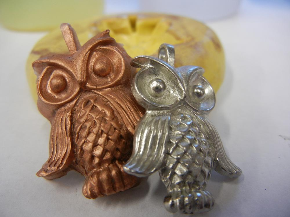 Making your own molds is a HOOT! - Rings and ThingsRings and