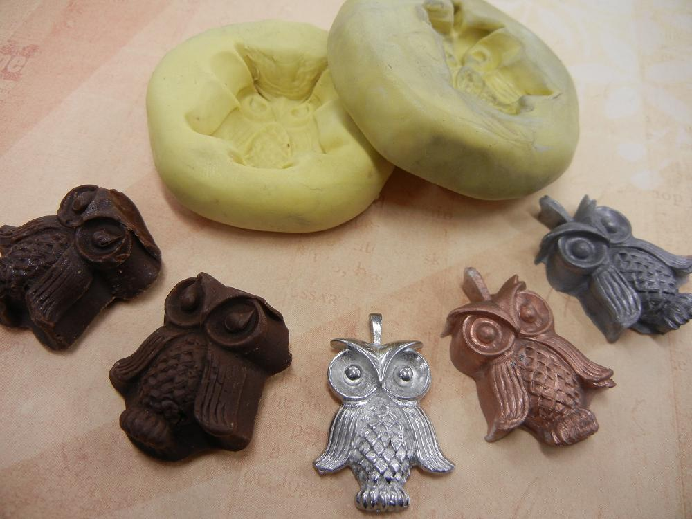 Making your own molds is a HOOT!