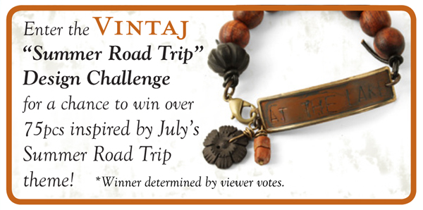 vintaj rings & things road trip design challenge