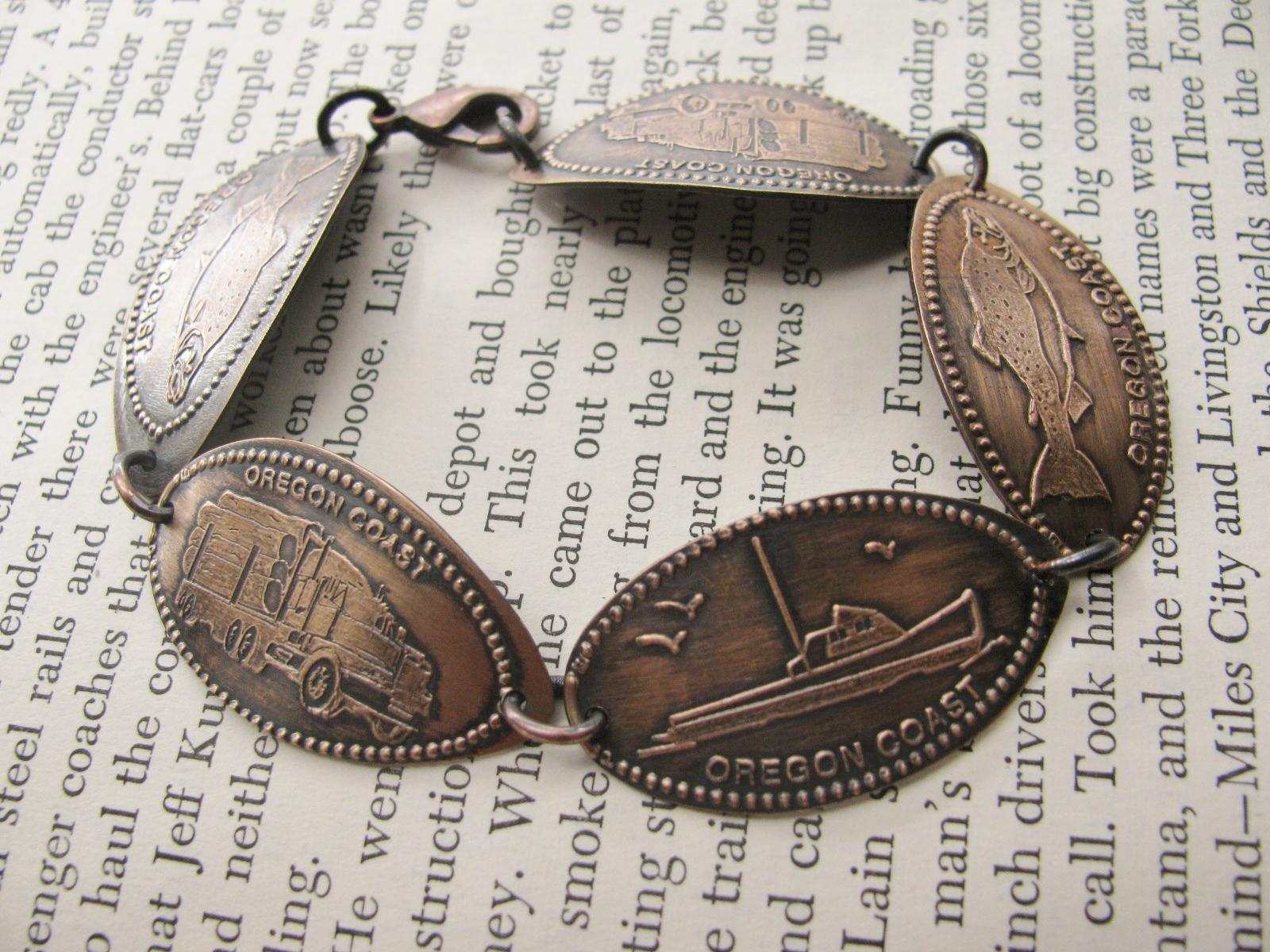 Smashed Penny Souvenir Bracelet
