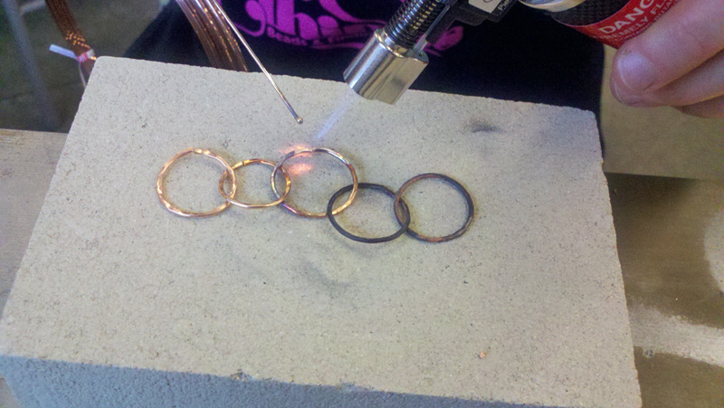 I Love Copper Solder Rings And Things