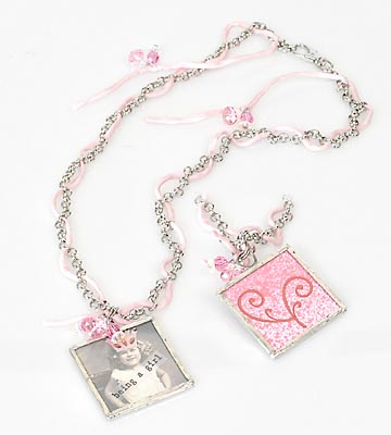 How to solder glass pendants rings and things pink is for girls necklace aloadofball Images