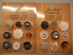 Plastic Button Assortments
