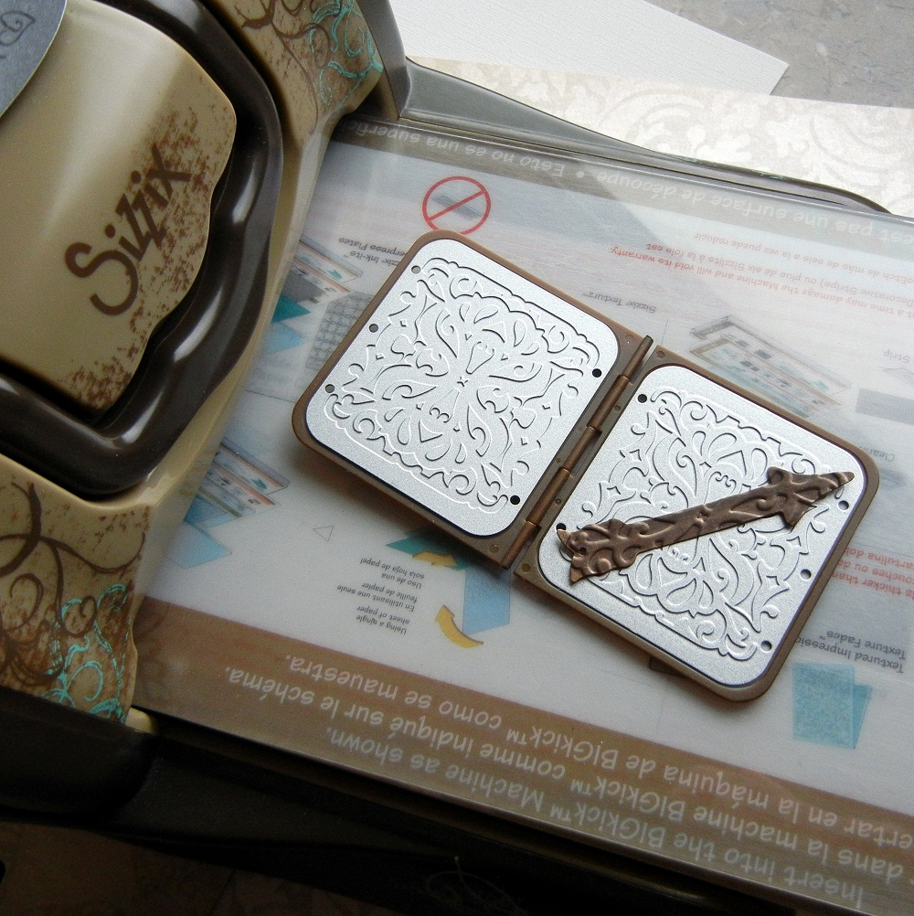 Jewelry making tutorial: How to emboss a metal blank with the Vintaj BIGkick tool.