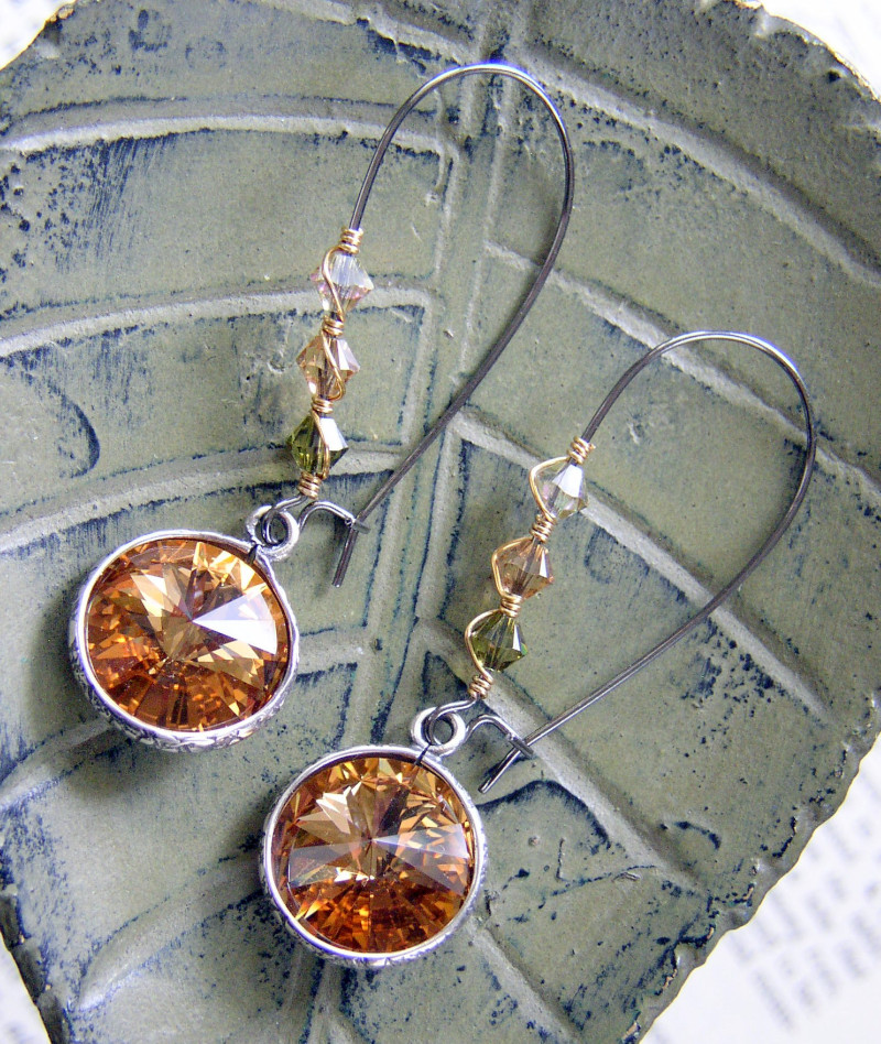 How to make lashed kidney wire earrings featuring for Jewelry made from kidney stones