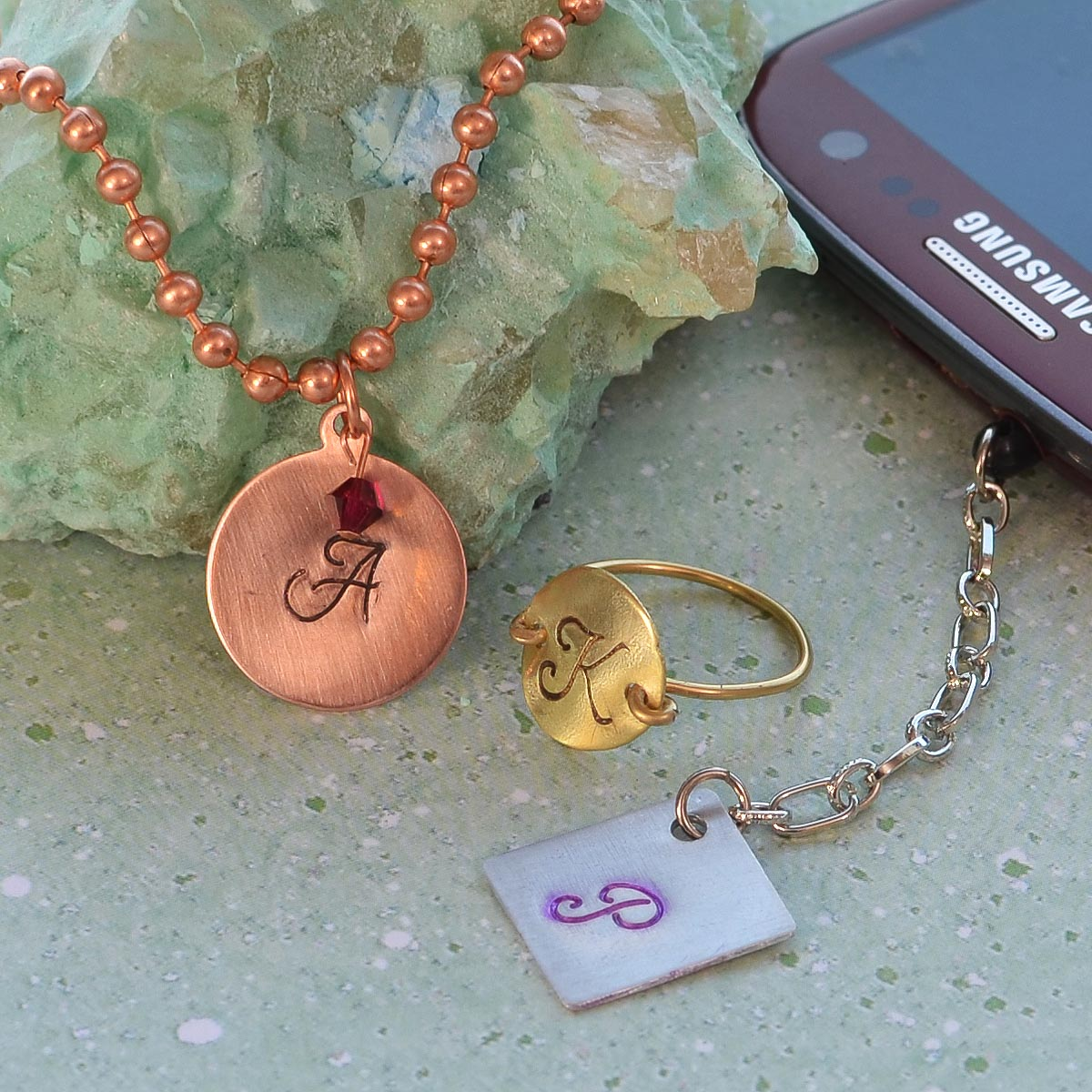 How To Make Personalized Stamped Charms