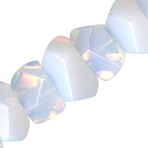 """Opalite"" is not a laser treated quartz. It's a pretty glass with an opalescent quality."