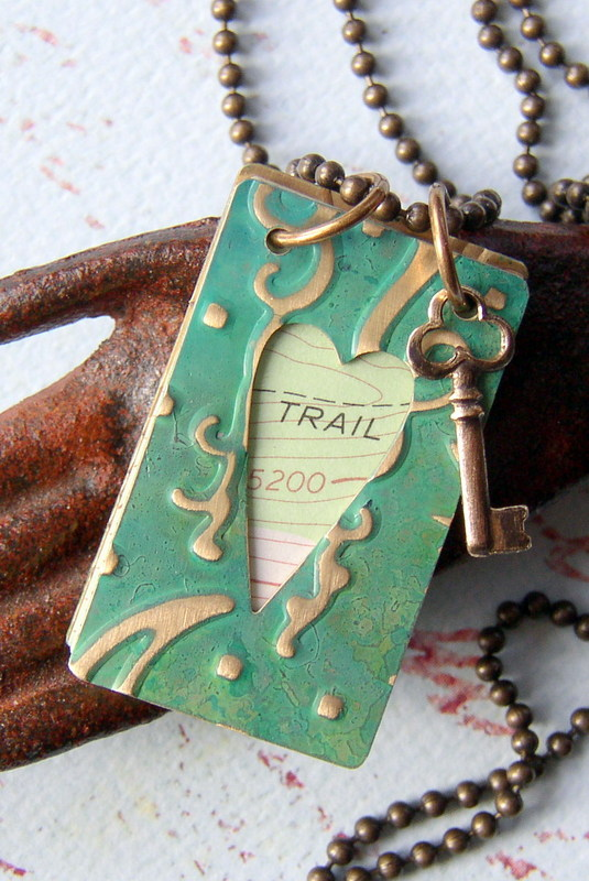 Wandering Journal Necklace