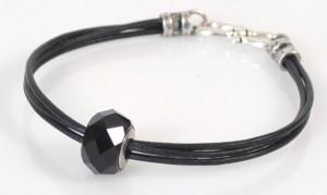 Basic Black Bracelet by Rita Hutchinson