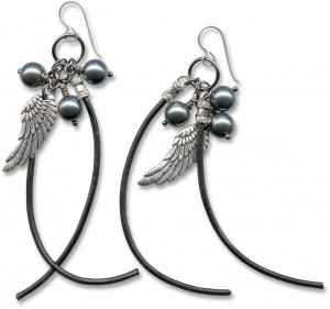 Bastian's Earrings by Lindsey Green