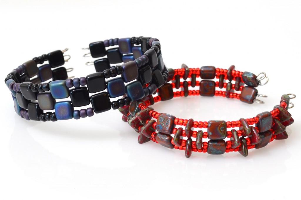 Czechmate Memory Wire Bracelets