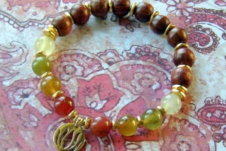 Yoga Charm Bracelet Step Concluding Image