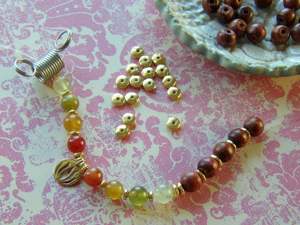 Yoga Charm Bracelet Step 4
