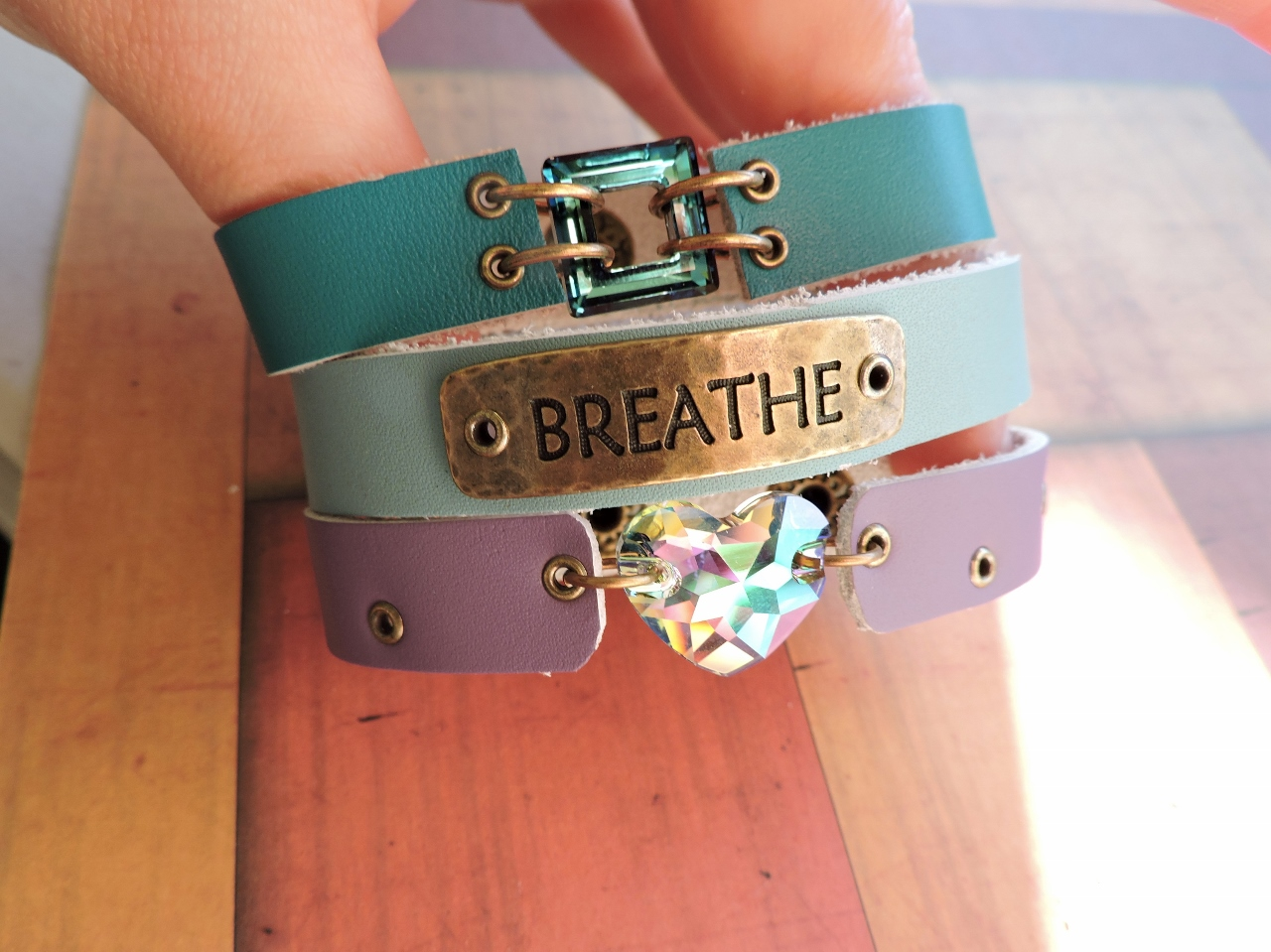 Leather Bracelet Ideas in our Blog