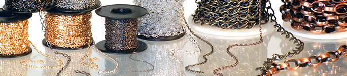 Wholesale Bulk Jewelry Chain by the Spool or Foot