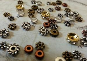 Metal Halo Beads
