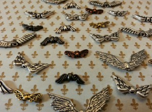 Various Metal Wing Beads