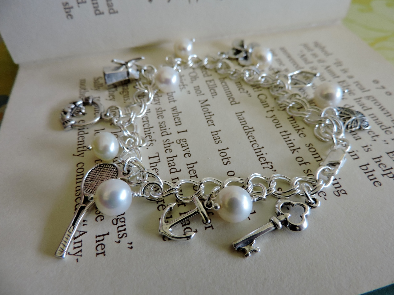 make a classic charm bracelet rings and things