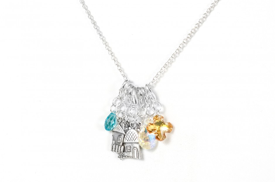 charm amore st featuring angel item and with temple arrow necklaces categories charms rock diamond clair necklace crystal heart