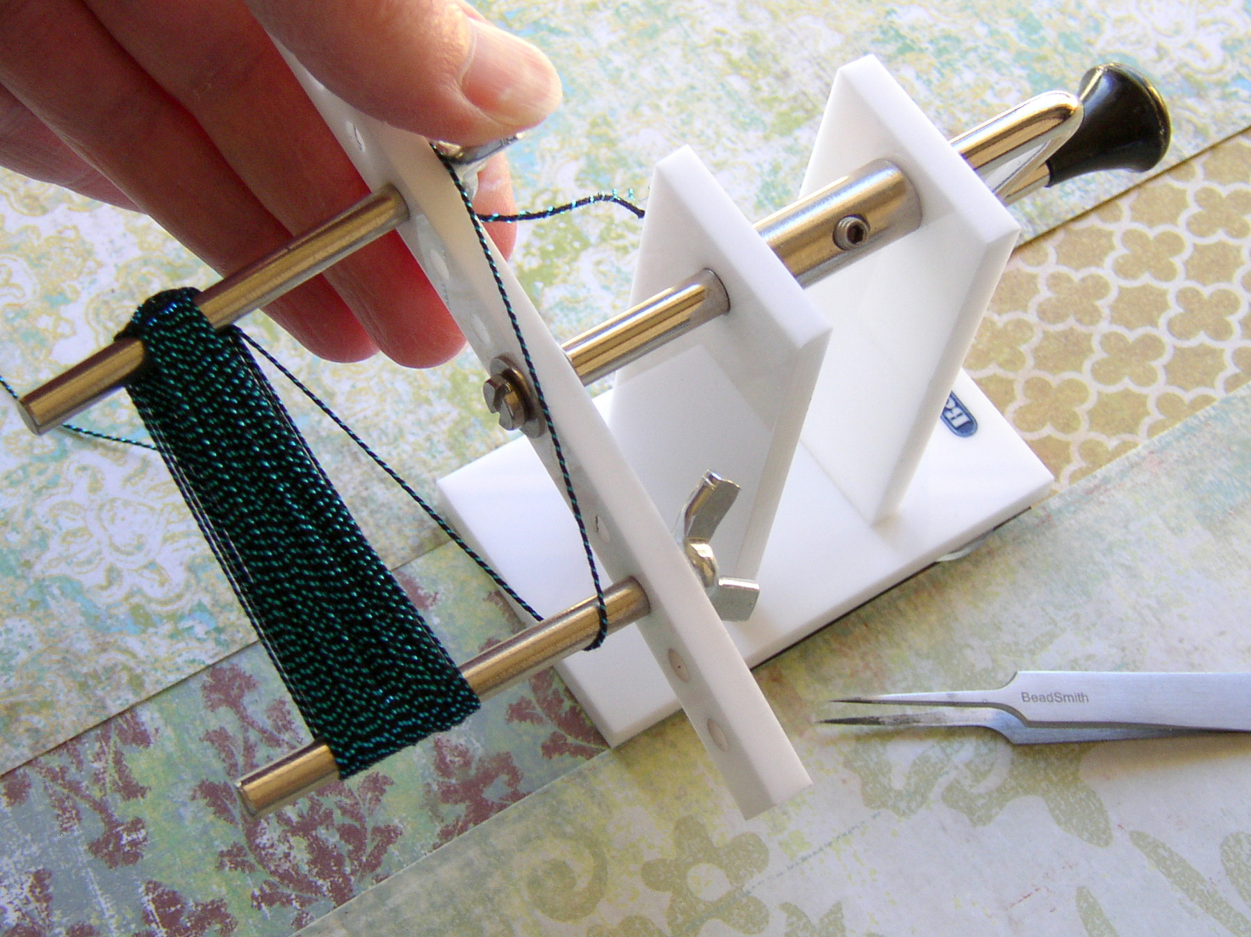 DIY tassel making tutorial with Beadalon Tassel Maker Tool.