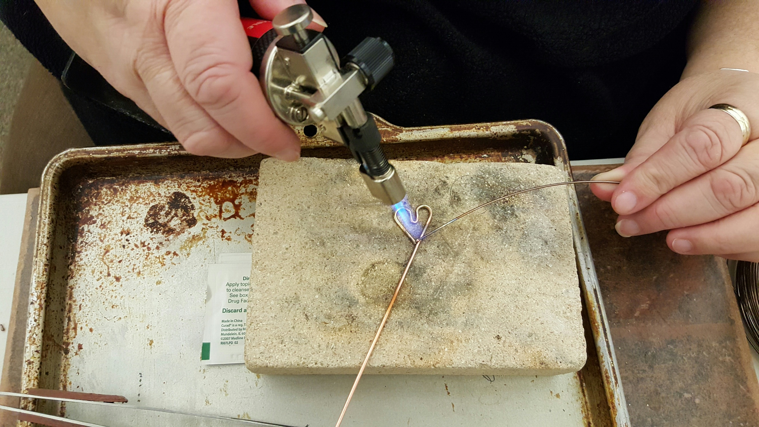 Set up your station for soldering