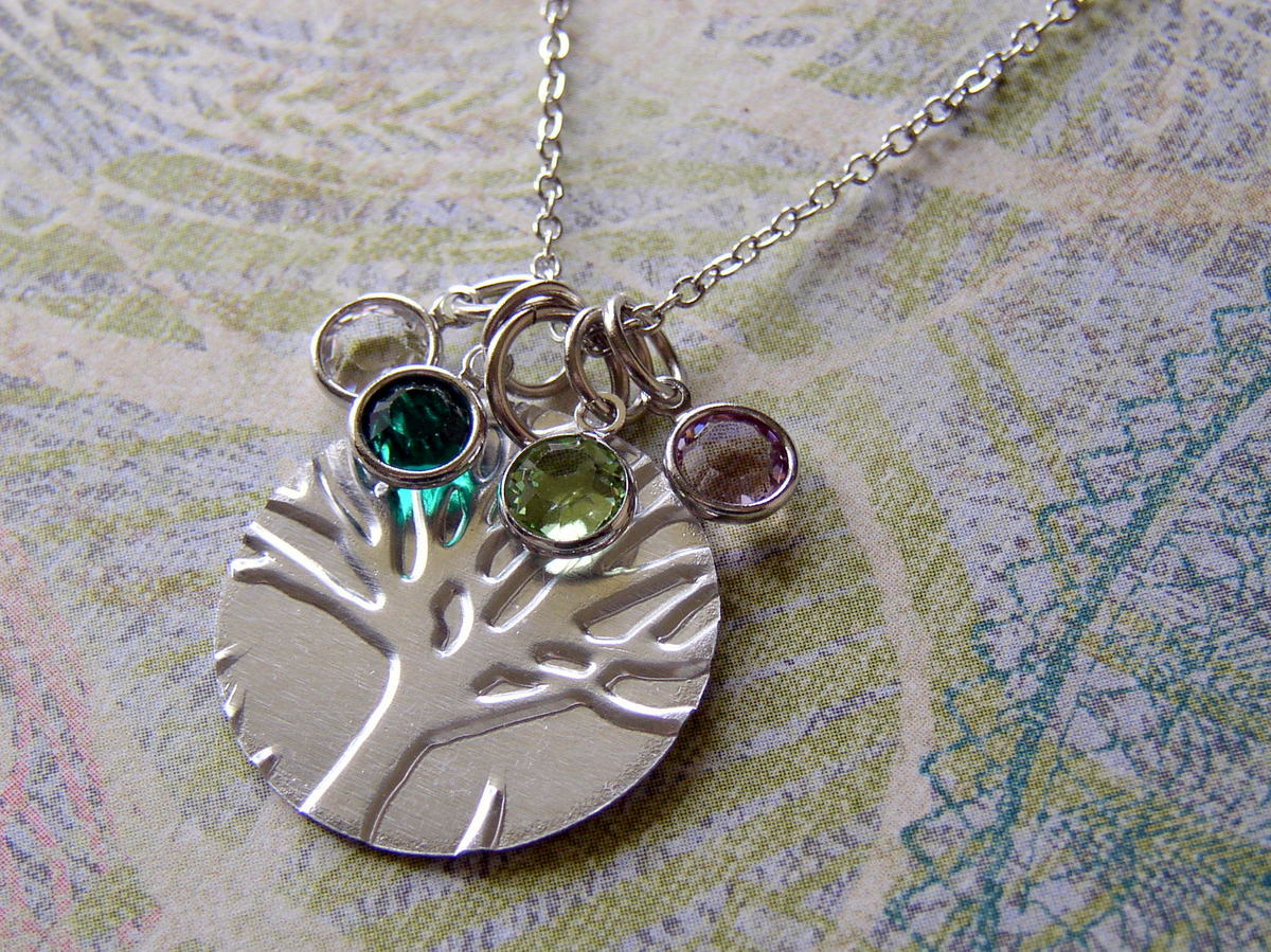 Family Tree Necklace End