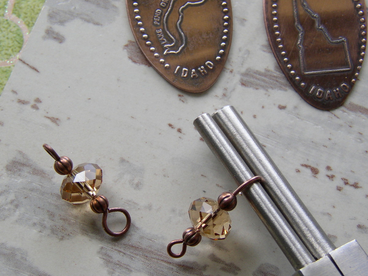Souvenir Pressed Penny Earrings P