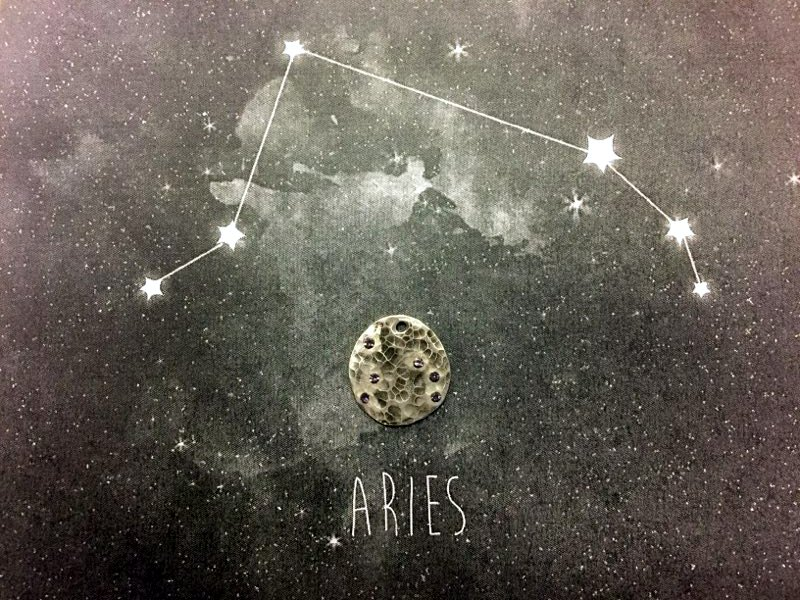 create your own astrological pendants or constellation jewelry using crystals and basic jewelry making skills. www.rings-things.com.