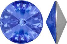 sparkling sapphire blue Swarovski crystal rivoli