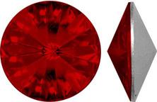 siam: rich red swarovski crystal