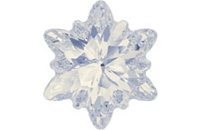 sparkling white opal swarovski crystal