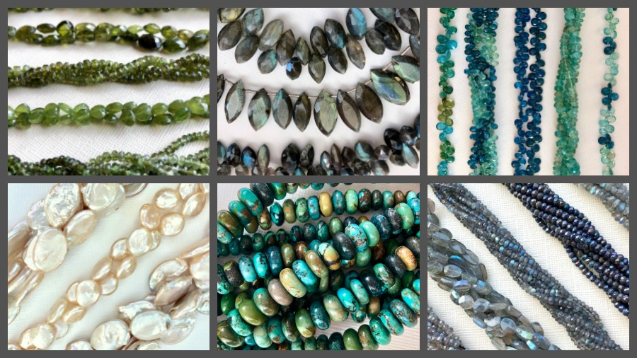 Gemstone Strands for our Fall 2018 Bead Show and Sale
