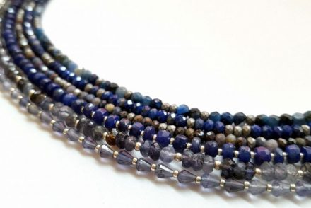 How can you tell if gemstone beads are genuine or imitation